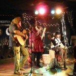 Onstage with Kate and Corwen - Cornwall