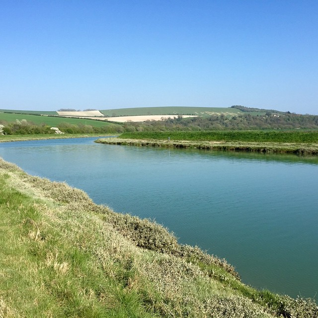 No filter, no added nothing. Just the beautiful river Adur…