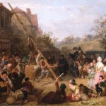 Frederick_Goodall_Raising_the_Maypole