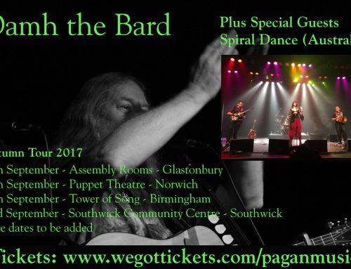 Damh the Bard and Spiral Dance on Tour