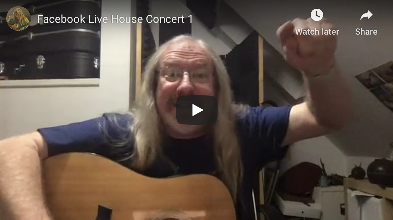 Facebook Live – House Concert 1