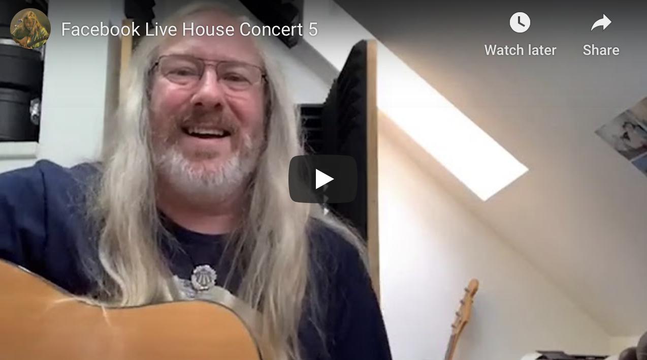 Facebook Live 'House Concert' 5