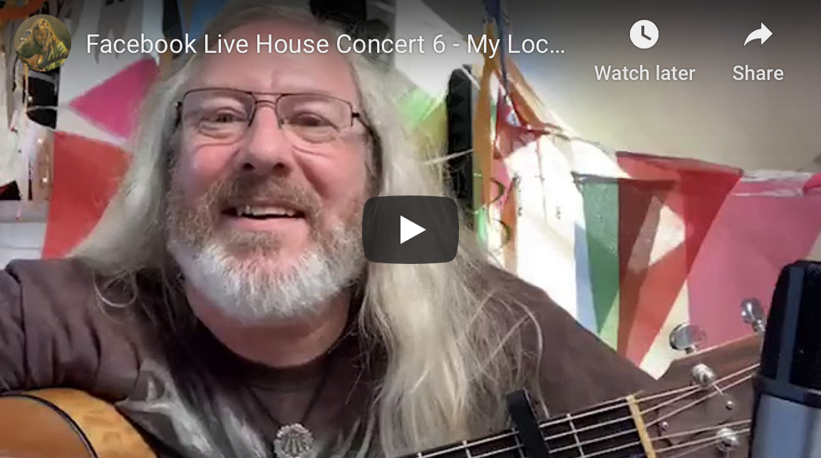 Facebook Live 'House Concert' 6 – My Lockdown Birthday Party!