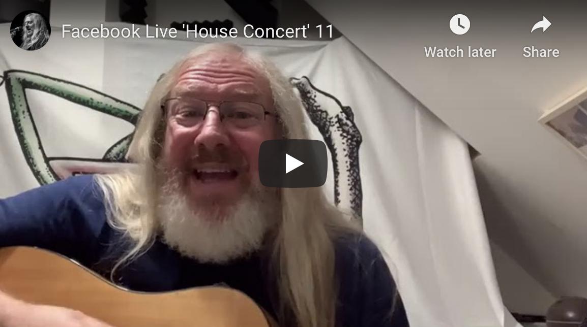 Facebook Live 'House Concert' 11
