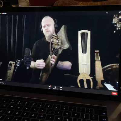 An Audience with Einar Selvik of Wardruna