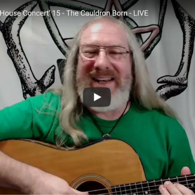 Facebook Live 'House Concert' 15 – The Cauldron Born Live