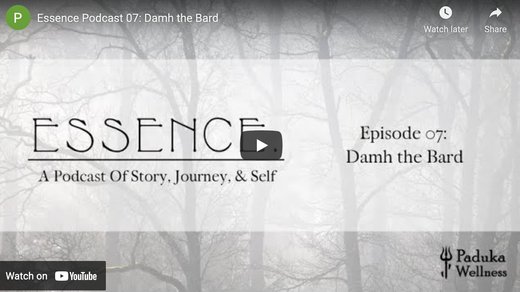Essence Podcast Interview